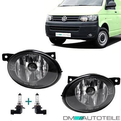2x VW T5 Multivan Transporter Facelift Nebelscheinwerfer SET Chrom Klarglas HB4
