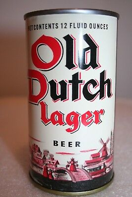 Old Dutch Lager Beer 12 oz. flat top from Los Angeles, California