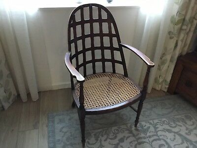Bergere Antique Wooden Chair
