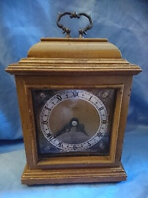 A Fine English Mantel Clock By Elliott