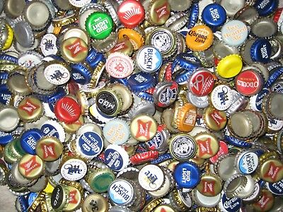 1000+ ASSORTED BEER BOTTLE CAPS Many Colors!!! E