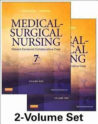 Medical-Surgical Nursing: Patient-Centered Collaborative Care, 7th Edition (2 V