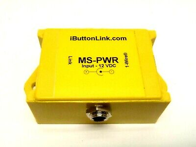 iButtonLink MS-PWR Power Injector, External Source 1-Wire Connector 12VDC