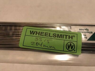 WHEELSMITH SS14 2.0 X 294 mm argent Vélo Rayons Pack de 50