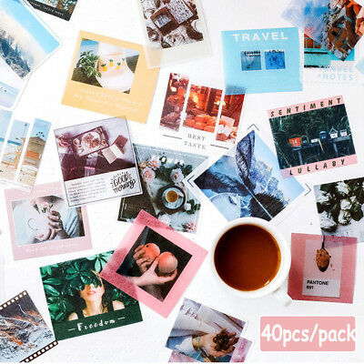 Scrapbooking Stationary Phone Decor Paper Sticker Stickers Diary Label