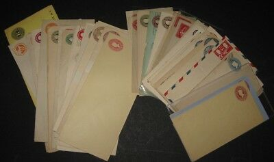 U.S. SPECIALIZED POSTAL STATIONERY 160 diff ENTIRES, cat over $1,100