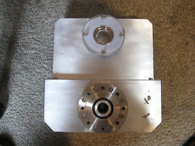 HUGE MDC Varian (?) Vacuum Gate Valve Chamber w/ Viewing Port 11 x 11 Heavy Duty