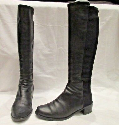 f922a2ab5b4e Stuart Weitzman For Russell And Bromley 50-50 Pull On Boots Uk 4.5 Us 7