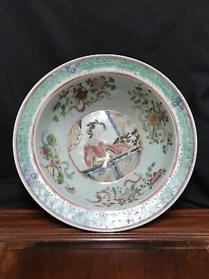 Very large Chinese  porcelain bowl/plate.
