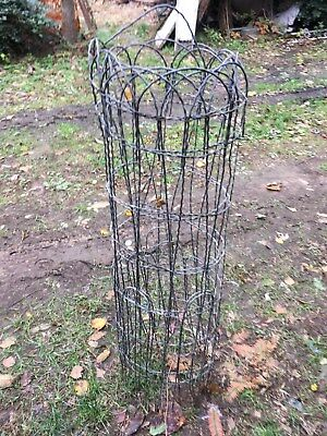 Vtg Twisted Wire Fence 5ft Roll 42in tall Garden Cottage Farm House Gate Repair