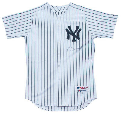 16cc49132 Gary Sanchez Signed Authentic New York Yankees Game Model Jersey Steiner COA