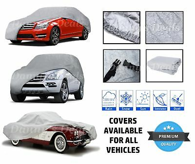 Heavy Duty Thick Car Cover Protector Snow Rain For Volvo 240 Saloon 1982 - 1992