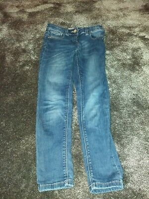 Next Girls Denim Jeans Trousers Age 8