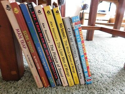 Vintage Paperback lot with Sleeze and some others