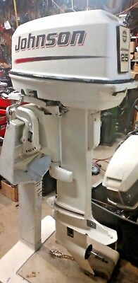 2004 johnson 25 hp outboard
