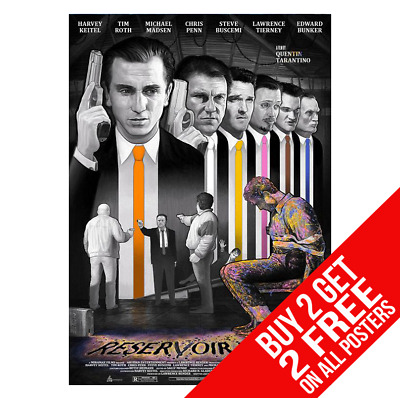 Reservoir Dogs Poster A4 A3 Size Print - Buy 2 Get Any 2 Free