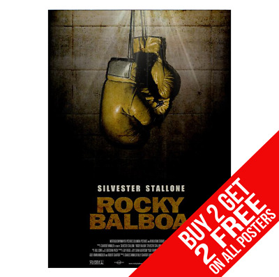 Rocky Balboa Poster A4 A3 Size Print - Buy 2 Get Any 2 Free