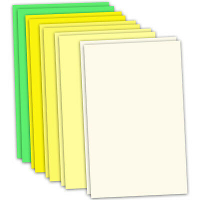 CRAFT ARTIST Flower Moulding Foam 10 x A4 Sheets 2 of each col SPRING CT27829-3