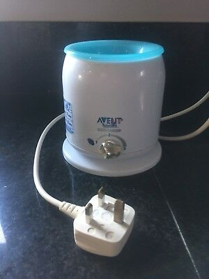 Electric Fast Warmer Philips avent Express Baby Food bottle warmer No Box Immac