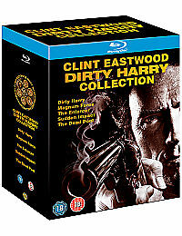 Dirty Harry Collection Blu Ray Box Set Complete 5 Discs