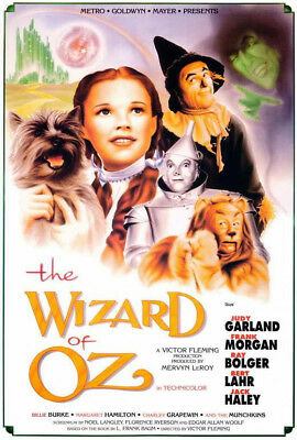 WIZARD OF OZ - CLASSIC MOVIE POSTER - 24x36 - 160786