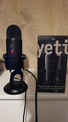 Blue Yeti Blackout - Original Packaging & Cable - Excellent Condition