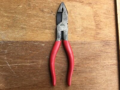 Mac Tools NOS High Leverage Linesman Pliers  P301721