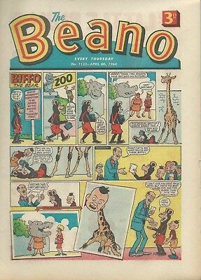 Beano Comics April 1964. Good Condition. April 4th, 11th, 18th & 25th 1964.