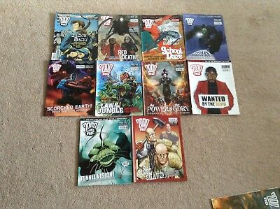 2000 AD Comics 1460-1469 LAST CHANCE TO BUY GOING TO CHARITY IF UNSOLD