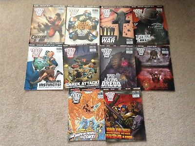 2000 AD Comics 1430-1439 LAST CHANCE TO BUY GOING TO CHARITY IF UNSOLD