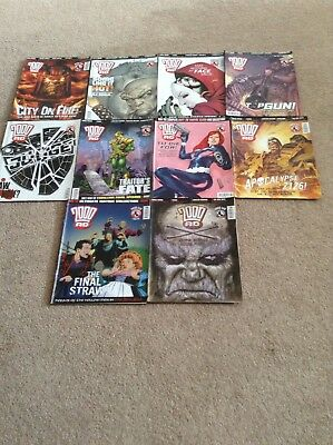 2000 AD Comics 1410-1419 LAST TO BUY GOING TO CHARITY IF UNSOLD