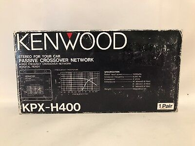Kenwood KPX-H400 Passive Crossover Network For Car Stereo New Old Stock