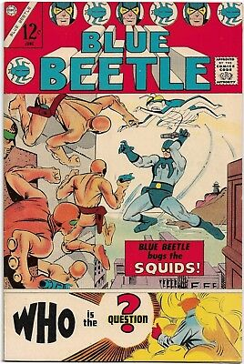 BLUE BEETLE 1 1967 Ted Kord  Charleton Steve Ditko Squids First App Question