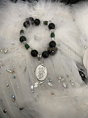 Code 455 Archangel Michael Turquoise Infused Bracelet FREE Archangel Power Tarot
