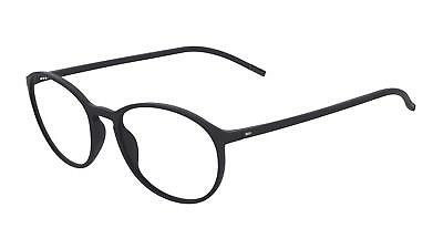 af4460683e NEW Silhouette SPX Illusion Fullrim 2889 Eyeglasses 6100 black matte  AUTHENTIC