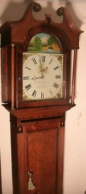 "Antique  Oak   ""  Brampton ""  30 Hour  Grandfather / Longcase Clock"