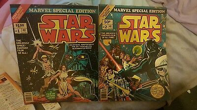 Star wars marvel special edition 1 & 2 & other comics