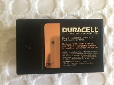 Duracell 8Mm Camcorder Battery Pack