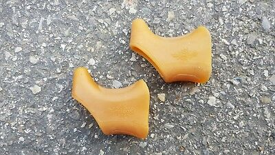 BRAKE HOODS FOR CAMPAGNOLO BRAKE LEVERS - Nuovo Record - WORLD LOGO