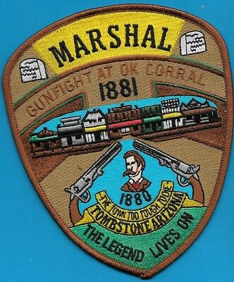 Tombstone Az Arizona Marshal Gunfight At Ok Corral Town Too Tough To Die Tpd Pd