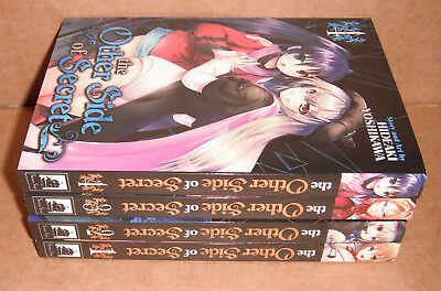 The Other Side of Secret Vol. 1,2,3,4 Manga Graphic Novels Set English