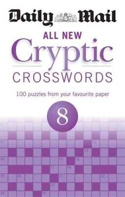 Daily Mail All New Cryptic Crosswords 8 by Daily Mail 9780600632702