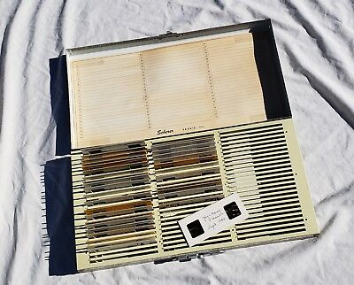 Scherer - Realist Format Stereo Slide Case with 33 Slides