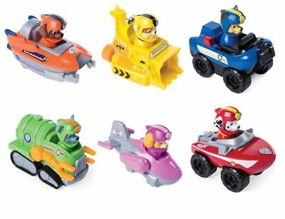 Set 6 Paw Patrol Sea Patrol Rescue Racers Chase Marshall Skye Zuma Rocky Rubble
