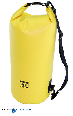 Mad Water™ 20L Waterproof Dry Bag Yellow M32005 Motorcycle Luggage Dry Tube