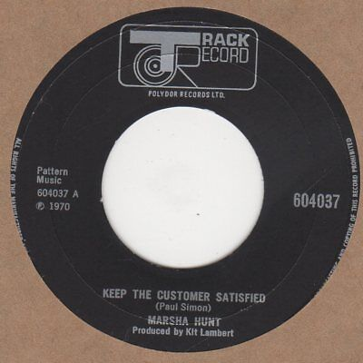 Marsha Hunt  Keep the Customer Satisfied  Track 604037 Soul Northern Motown