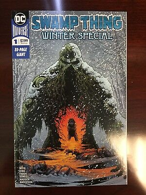 Swamp Thing Winter Special #1 Tom King NM Unread Beautiful Copy HTF