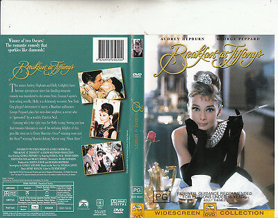 Breakfast At Tiffanys-1961-Audrey Hepburn-Movie-DVD