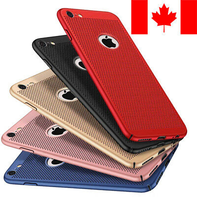 Ultra Slim Mesh Grid Case Cover For Apple Iphone 7 & Iphone 8