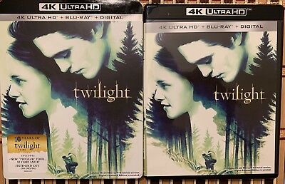 Twilighty 4K Ultra Hd Blu Ray 2 Disc Set + Slipcover Sleeve Free World Shipping